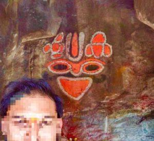 Шри Вира Нарасимха Свами без серебряных украшений